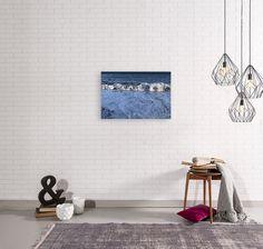 Ocean Sea Waves Close Up downloadable digital printable wall | Etsy Sea Waves, Other Rooms, Printable Wall Art, Living Area, Wall Art Decor, Close Up, Gallery Wall, Printables, Ocean