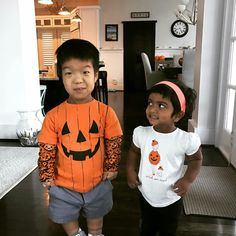 Will & Zoey are ready for Halloween