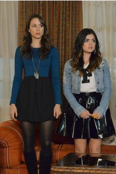 """Hier findest du ganze 75 Outfits der Trendserie """"Pretty Little Liars""""! 75 of the Most Amazing Outfits From Pretty Little Liars Pretty Little Liars Spencer, Pretty Little Liars Outfits, Pretty Litle Liars, Estilo Aria Montgomery, Spencer Hastings Outfits, Spencer Pll, Pll Outfits, Fashion Outfits, Style Fashion"""