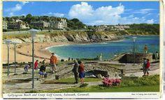 Cornwall vintage postcard tiles by Welbeck Tiles