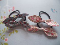 A personal favourite from my Etsy shop https://www.etsy.com/uk/listing/267440080/cath-kidston-fabric-bow-tie-ponytail