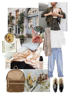 """sunday morning"" by rsussher ❤ liked on Polyvore featuring Park House, Levi's, Isolda, Kismet, Maison Margiela, Givenchy and Linda Farrow"