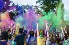 Holi festival of colors in Eindhoven =)