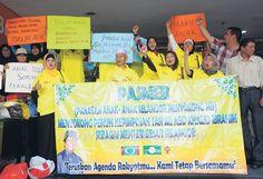 lamiafamilia (MY FAMILY): POLITIK : PASMEB bantah Wan Azizah sebagai Menteri...