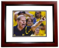 AAA Sports Memorabilia LLC - John Beilein Autographed Michigan Wolverines 8x10 Photo MAHOGANY CUSTOM FRAME with GO BLUE Inscription, $119.95 (http://www.aaasportsmemorabilia.com/collegiate/john-beilein-autographed-michigan-wolverines-8x10-photo-mahogany-custom-frame-with-go-blue-inscription/)