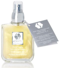 Huile seche corps Voile Nacré, Hormeta Perfume Bottles, Skin Care, Body, Paris, Mother Of Pearls, Veil, Products, Bonfires, Montmartre Paris