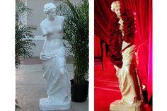 Roman Female Statue #bydzign #props #vegasdecor #décor #partyrentals For more info/ideas visit www.by-dzign.com