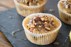 Sallys Blog - Birnen-Haselnuss-Muffins mit Karamellsoße