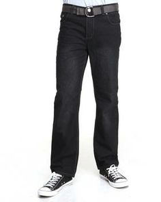 Love this Belted Denim Jeans by Basic Essentials on DrJays. Take a look and get 20% off your next order!