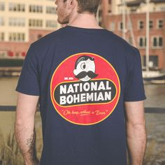 2b14b6d12 National Bohemian Retro (Navy) / Shirt – Route One Apparel Natty Boh,  Maryland
