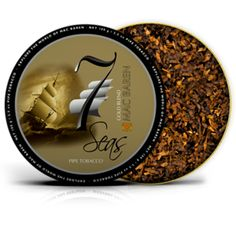 Mac Baren's 7 seas gold pipe tobacco. All tobaccos in this line are predominately made out of Virginia tobaccos where the most of the American made tobaccos have a base of Burley. Using the Virginia as the major player in our blends does make the taste more clear and crisp, and you avoid any unpleasant aftertaste.
