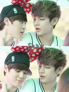 Jimin and V aka the most obvious OTP ever!