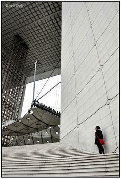 Grande Arche de la Defence, Paris