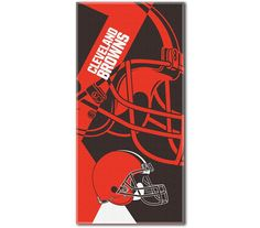 Use this Exclusive coupon code: PINFIVE to receive an additional 5% off the Cleveland Browns NFL Puzzle Beach Towel at SportsFansPlus.com