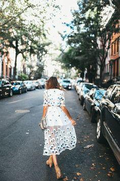 Fancy on a Monday NYC Fashion Tessa Barton embroidered dress