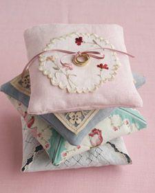 ring bearer pillows