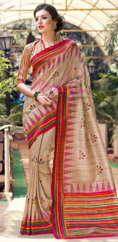 http://www.nool.co.in/product/sarees/tussar-silk-saree-chickoo-floral-print-styled-sf3016d16087