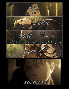 attack on titan levi and petra kissing - Google Search