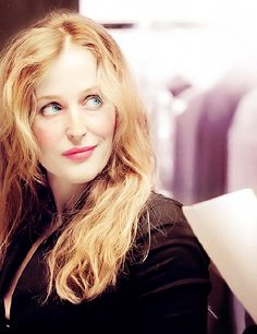 """Gillian Anderson """"The Sweetest Thing In Baseball"""", I think... :) xxx"""