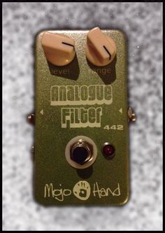 Mojo Hand FX Limited Edition 442 Analogue Filter Pedal Granny Apple