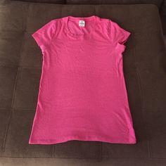 Victoria's Secret PINK t-shirt Victoria's Secret PINK t-shirt, size large, gently used PINK Victoria's Secret Tops Tees - Short Sleeve