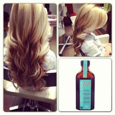 Moroccan Oil is the only thing that gives my unruly hair soft loose curls, I use and love the entire range.