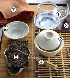 gong fu brewing diagram