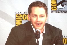 Hearts are bursting as @joshdallas says Oliver is his one true love. #OnceUponATime #SDCC