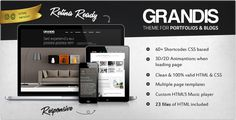 See More Grandis - Responsive Multi-Purpose HTML Templatetoday price drop and special promotion. Get The best buy