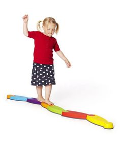 Great for motor development & balance.  River Block Set by Gonge on #zulily.  $51.99