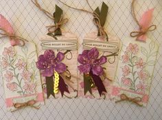 my stampart - stampin up tag,peaceful petals, everything eleanor