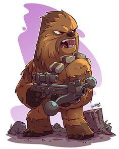 Chewbacca - by Derek Laufman