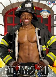 Oh my, is it getting hot in here?    FDNY 2013 Calendar of Heroes. $15.95