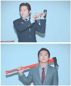 Steven Yeun, The Walking Dead.