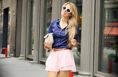 Glamgerous - Fashion Blogger: Blue & Pink
