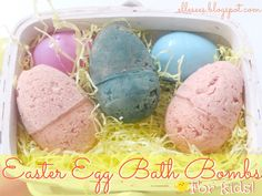 DIY: Easter Egg Bath