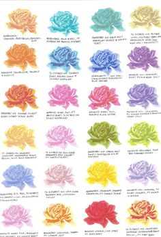 Paper and Ribbons: 3 Step Stamping Colour Combinations - The Sweet Life