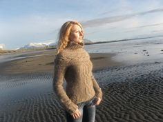 Icelandic Lopi Sweater. $200.00, via Etsy.