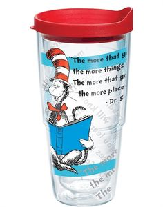 24 oz. Dr. Seuss Tervis Tumbler - the more that you read