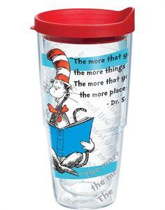 24 oz. Dr. Seuss Tervis Tumbler - the more that you read