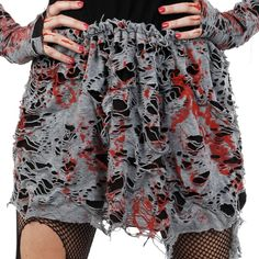 Let's Party With Balloons - Dr Tom's Blood Tattered Skirt, $15.00 (http://www.letspartywithballoons.com.au/dr-toms-blood-tattered-skirt/)