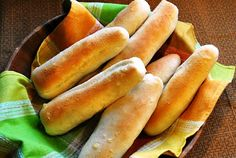 Homemade Soft Bread Sticks