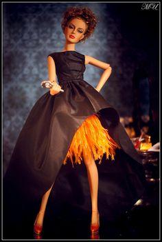 Eshe wears IT Avantguard gown