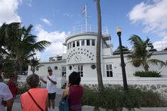 It's only $20 for a 90-minute tour of the Art Deco delights of South Beach. In this picture is MDPL tour guide Kenn Finkel.  Many buildings, such as Ocean Rescue Headquarters, were designed to resemble elegant cruise ships.