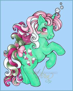 My Little Pony Fizzy by Blattaphile