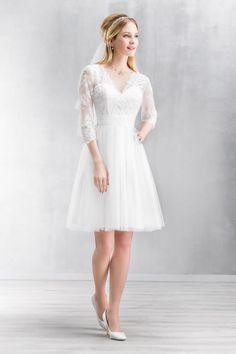 Short Wedding Dress Emmerling 2017 In Love Collection 15070 ABUDHABI