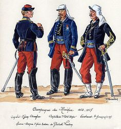 The Mexican Adventure: Uniforms: French Foreign Legion