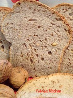 Fulvia's Kitchen: #Fette #Biscottate friabilissime con #pasta #madre alle #noci