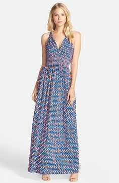 abe23e1bd72 Felicity   Coco Print Jersey Maxi Dress (Nordstrom Exclusive)