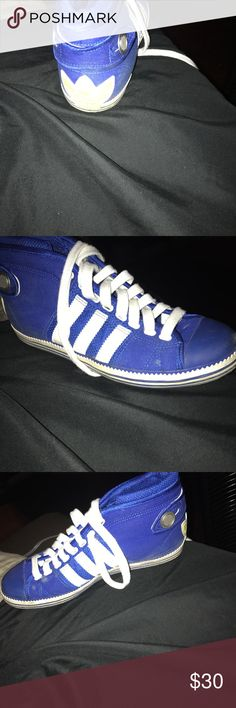 Adidas sneakers Blue and white sneakers adidas Shoes Sneakers
